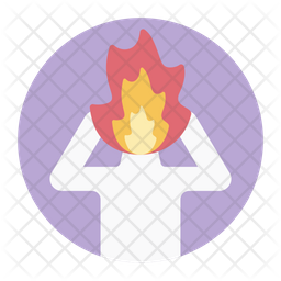 Occupational Burnout Icon