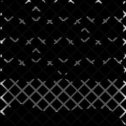 Ocean Glyph Icon