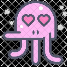 Octopus Emoji Icon