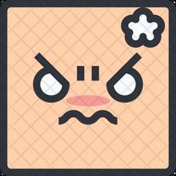 Offend Emoji Icon