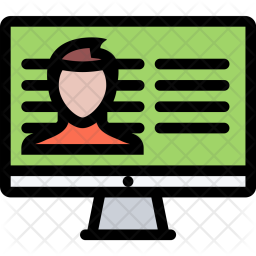Offenders, Database, Law, Crime, Judge, Court, Police Icon