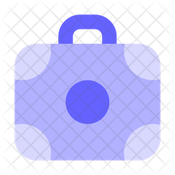 Office-bag Flat Icon
