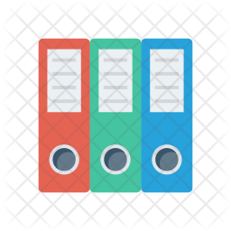 Office files Flat Icon