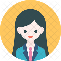 Office Lady Icon Of Rounded Style Available In Svg Png Eps Ai Icon Fonts