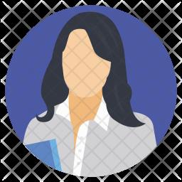 Office Representative Icon