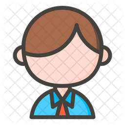 Office Worker Icon Of Colored Outline Style Available In Svg Png Eps Ai Icon Fonts