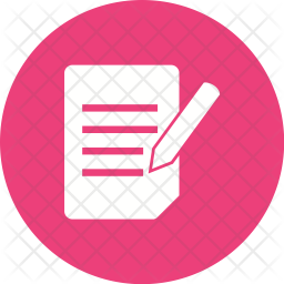 Official Document Icon Of Glyph Style Available In Svg Png Eps Ai Icon Fonts