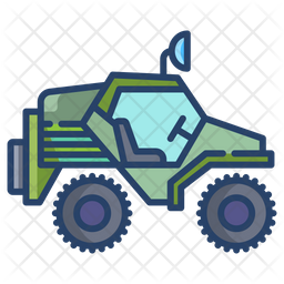 Offroad Jeep Icon