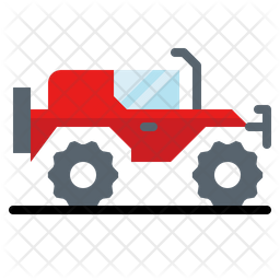 Offroad vehicle Icon