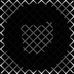 Ohio Glyph Icon