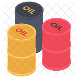 Oil Barrels Icon