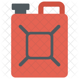 Oil can Flat Icon