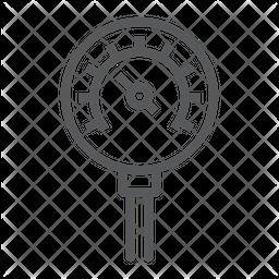 Oil manometer Icon