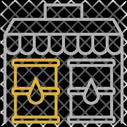 Oil market Icon