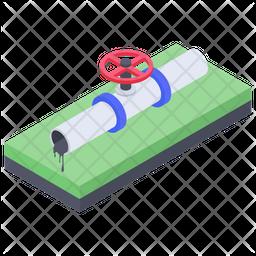 Oil Pipeline Icon