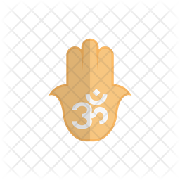 Om Hand Icon