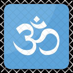 Om Symbol Icon