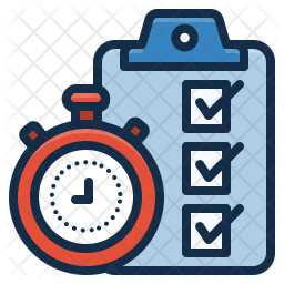 On Time Delivery Icon Of Colored Outline Style Available In Svg Png Eps Ai Icon Fonts