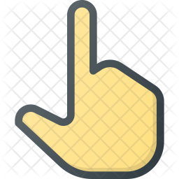 One Colored Outline Icon