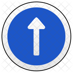 One way Icon