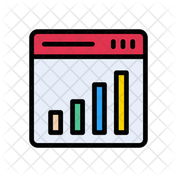 Online Analysis Icon Of Colored Outline Style Available In Svg Png Eps Ai Icon Fonts