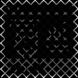 Online Analysis Glyph Icon