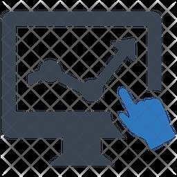 Online Analysis Dualtone Icon
