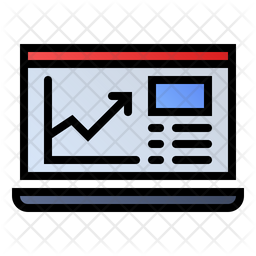 Online analytical Icon