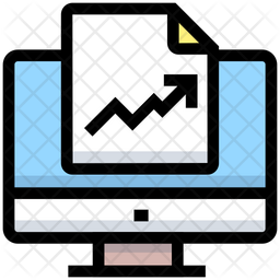 Online Analytics Report Icon