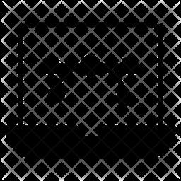 Online Bezier Glyph Icon