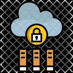 Online Book Storage Icon