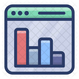 Online Business Analysis Icon
