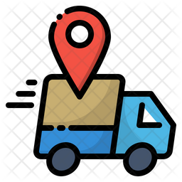 Online Delivery Icon Of Colored Outline Style Available In Svg Png Eps Ai Icon Fonts