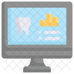 Online Dental Report Icon