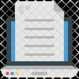 Online Docs Icon