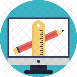 Online Drawing Icon