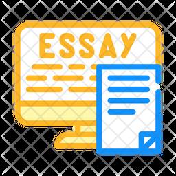 Online Essay Writing Icon