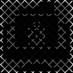 Online Folder Virus Icon
