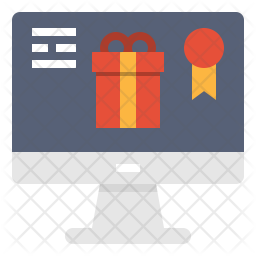 Online gift Icon