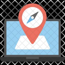 Online Gps Navigation Icon
