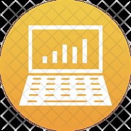 Online Graph Icon