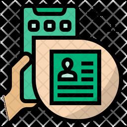 Online Job Application Icon