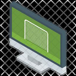 Online Match Isometric Icon