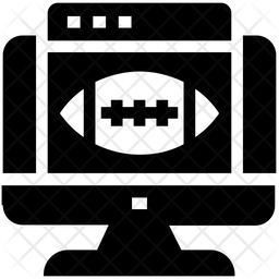 Online Match Glyph Icon