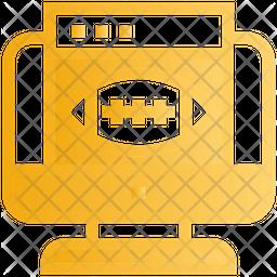 Online Match Gradient Icon