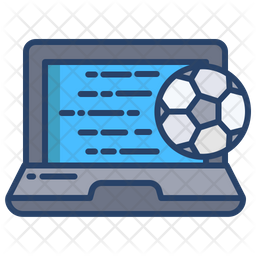 Online Match Colored Outline Icon