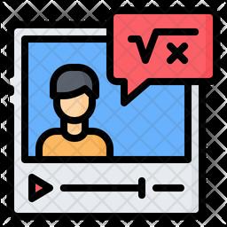 Online Math Tutorial Icon