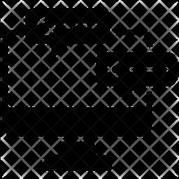 Online Messaging Glyph  Logo Icon