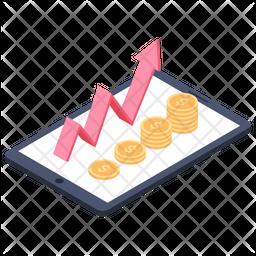 Online Money Transaction Icon