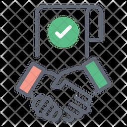 Online Partnership Icon